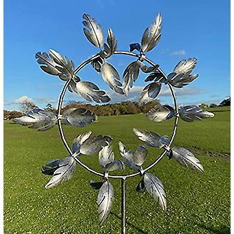 فريدة من نوعها والسحرية طاحونة معدنية، 3D الرياح بالطاقة النحت الحركي، المعادن الرياح الدوار الشمسية، الحديقة الشمسية الرياح المغازل لساحة وحديقة، ريح القط