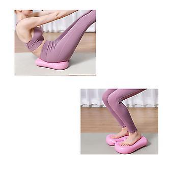 Silktaa Household Inflatable Stepper Pvc Massage Point Non-slip Balance Pad