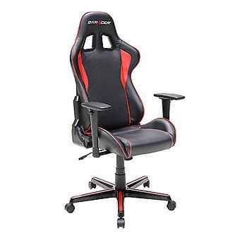 DX Racer DXRacer OH/FH08/NR High-Back Ergonomic Computer Chair PU(Black/Red)