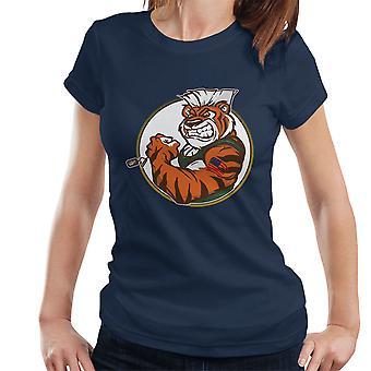 Oog van de straat Tiger Guile Fighter Women's T-Shirt