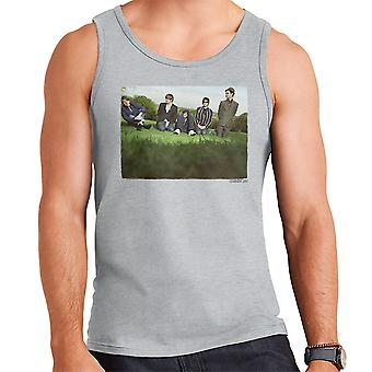 Colete masculino-foto de campo de Kaiser Chiefs