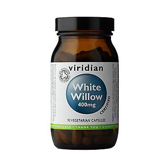 Viridian White Willow 400mg (ekologisk), 90 Veg Caps