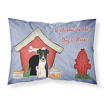 犬の家コレクション滑らかなフォックス テリア生地標準的な枕