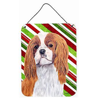 طباعة الكلب المتعجرف عطلة عيد الميلاد الألومنيوم المعدنية الجدار أو الباب معلقة
