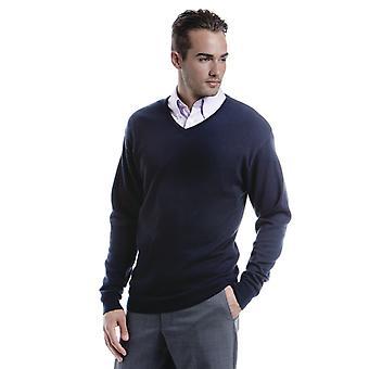 Kustom Kit Mens Arundel V Neck Sweater-KK352