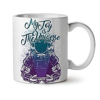 Toy Is Universe Cool Geek NEW White Tea Coffee Ceramic Mug 11 oz | Wellcoda