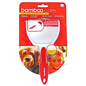 Munchkin bambu cão Undercoat & Dematting ancinhos