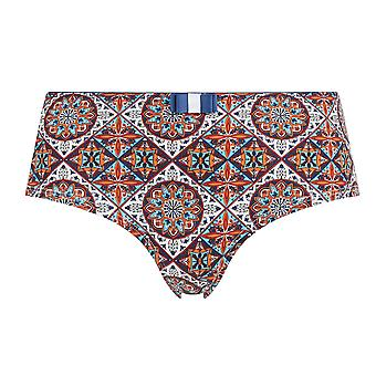 Guy de France 18022-181-018 Women's Multicolour Motif Knickers Panty Brief