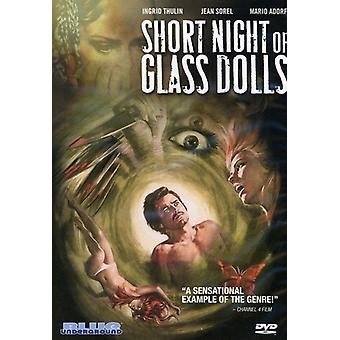 Short Night of Glass Dolls (1971) [DVD] USA import