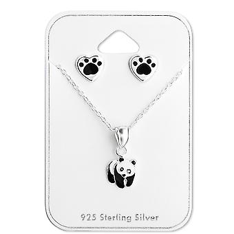Panda - 925 Sterling Zilver Sets - W28983x
