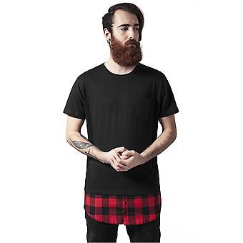 החולצה העירונית הקלאסית בצורת בד בוטום פלנל