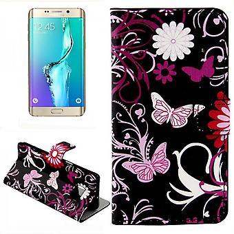 Portafoglio borsa Deluxe modello 4 Samsung Galaxy S6 bordo più G928 F
