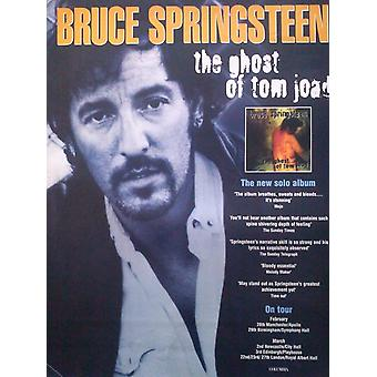 Bruce Springsteen The Ghost of Tom Joad Poster