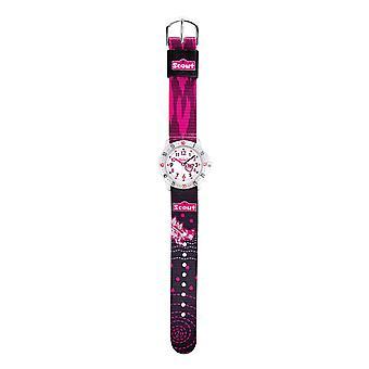 Scout kind horloge leren actie meisjes roze meisje 280378069