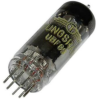 UBF 89 Vacuum tube Double diode pentode 200 V 11 mA Number of pins: 9 Base: Noval Content 1 pc(s)