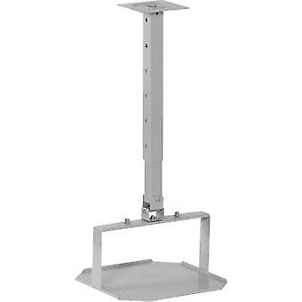 Medium 2042583 Projector ceiling mount Tiltable Max. distance to floor/ceiling: 90 cm Silver (matt)