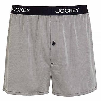 Jockey USA Originals Woven Boxer Short, Navy, X-Large