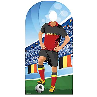 World Cup 2018 Belgium Football Cardboard Cutout / Standee Stand-in