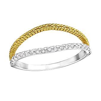 Apri - 925 Sterling Silver Cubic Zirconia anelli - W23270X