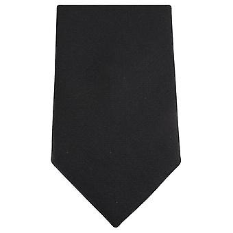 Knightsbridge Krawatten Diamante Muster Krawatte - schwarz/silber