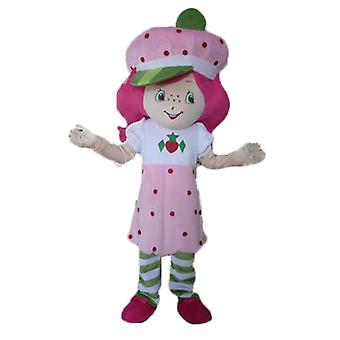 mascot SPOTSOUND in Charlotte to strawberries, famous girl pink