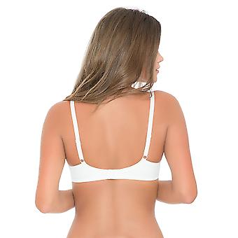 After Eden 10.05.6020 Women's Jo Embroidered Padded Underwired Spacer Bra