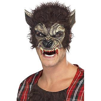 Smiffys varulv halv ansiktsmaske