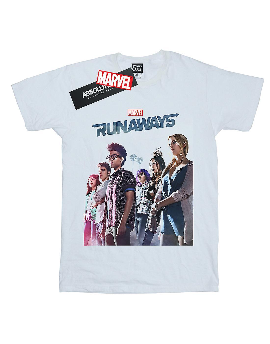 Marvel Men's Runaways Misty Poster T-Shirt