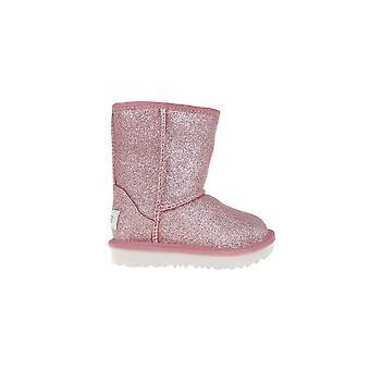 UGG Classic Short II Glitter 1098491TPINK universele winter kids schoenen