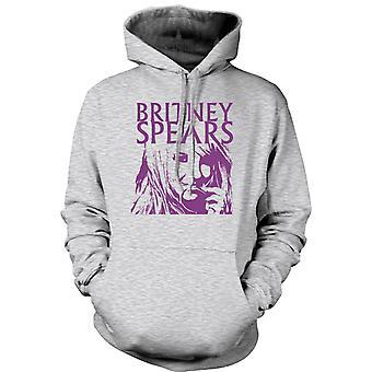 Mens Hoodie - Britney Spears legenda