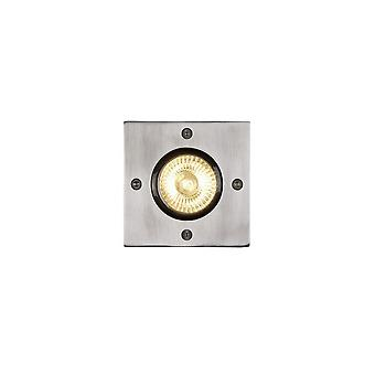 Lucide Biltin Modern Square Aluminum Satin Chrome Deck Light