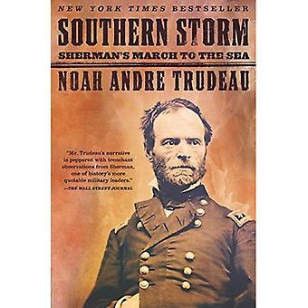 Tormenta meridional: Marcha de Sherman hacia el mar