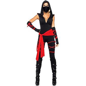Sexy Black Female Ninja Costume Adult
