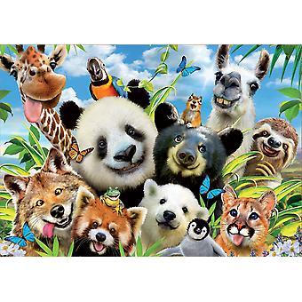 Educa Llama Drama Selfie Jigsaw puzzel (1000 stuks)