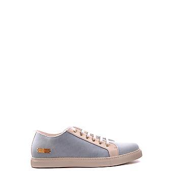 Marc Jacobs Ezbc062032 Uomini's Light Blue Fabric Sneakers