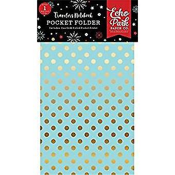 Echo Park Wish Upon a Star Travelers Notebook Pocket Folder Insert