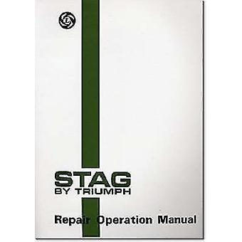 Triumph Workshop Manual - Stag - Part No. Akm3966 by Brooklands Books L