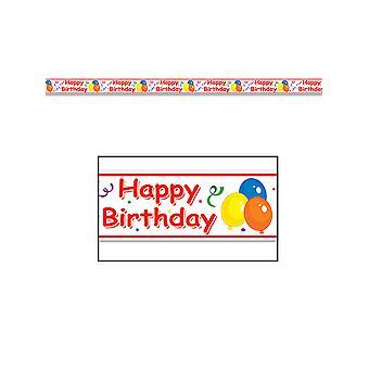Grattis på födelsedagen fest Tape