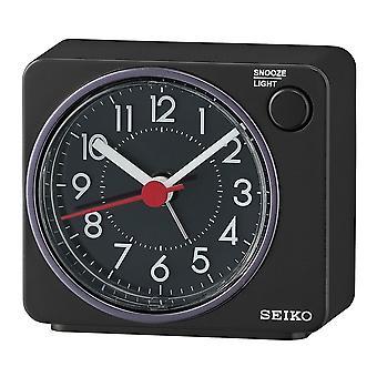 Seiko Beep Alarm Clock Plastic - Black (QHE100K)
