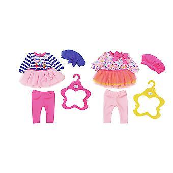 Baby født tøjkollektion (en Outfit medfølger, Design tilfældigt udvalgt)