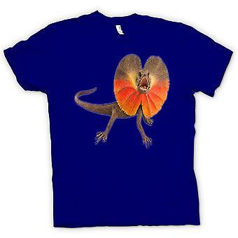 Kids T-shirt-flæse hals firben