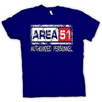 Kids T-Shirt - Bereich 51 berechtigte Personal - UFO lustige Ausländer