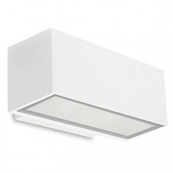 LED Outdoor piccola parete grigio chiaro IP65