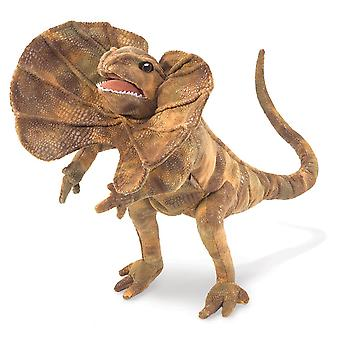 Hand Puppet - Folkmanis - Frilled Lizard New Toys Soft Doll Plush 3046