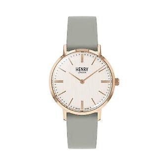 Henry London Clock Unisex ref. HL34-S-0406