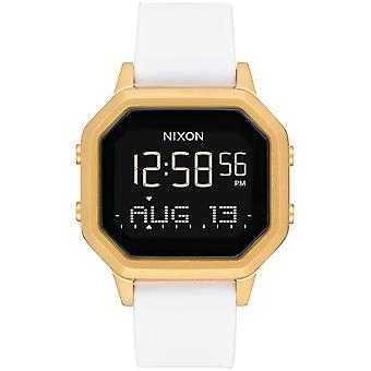 Nixon the siren ss Digital Quartz Woman Watch with Silicone Bracelet A1211508