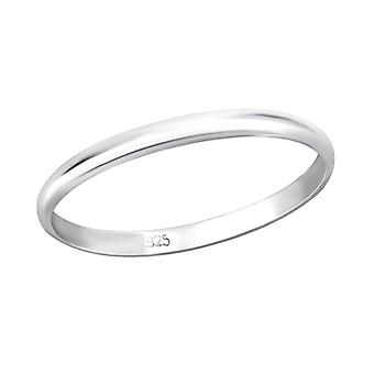 Band - 925 Sterling Silber Plain Ringe - W29452x