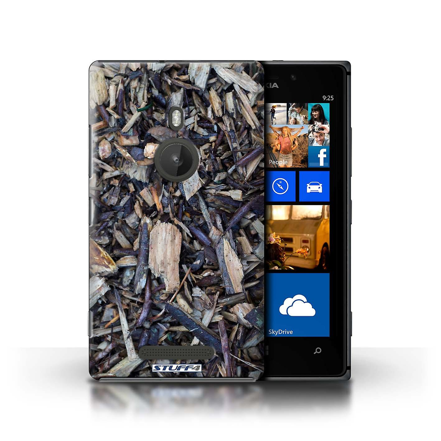 STUFF4 Case/Cover for Nokia Lumia 925/Chippings/Twigs/Tree Bark
