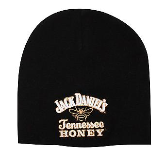 Jack Daniels Black Tennessee Honey Logo Beanie
