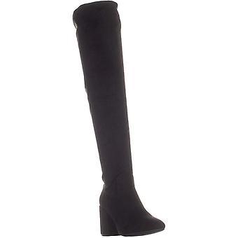 Bar III Womens Gabrie Stoff Mandel Toe über Knie Mode Stiefel